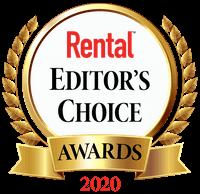 2020 Rental Editor's Choice Awards 2100SJ