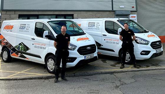 Ahern Ireland Expands Service Team